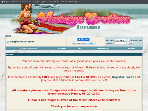 Vintage-erotica-forum Vintage Erotica